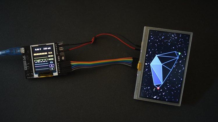 可实时显示所有SPI通信的逻辑分析仪,一个更好的SPI调试器SPIDriver上手体验
