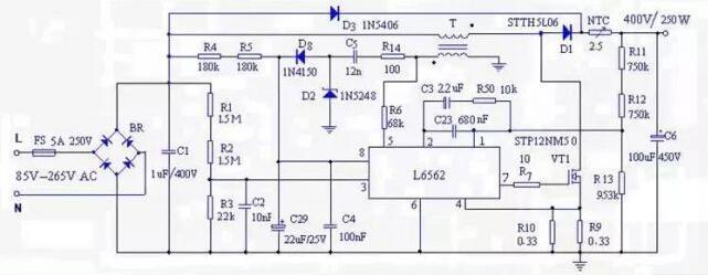 电源设计中的PFC电感量该如何考虑?