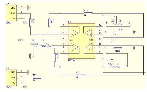 基于單片機的DS18B20溫度檢測系統設計方案