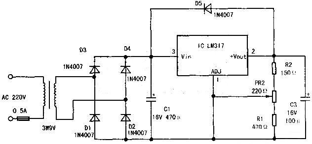 小型穩壓電源的設計與制作