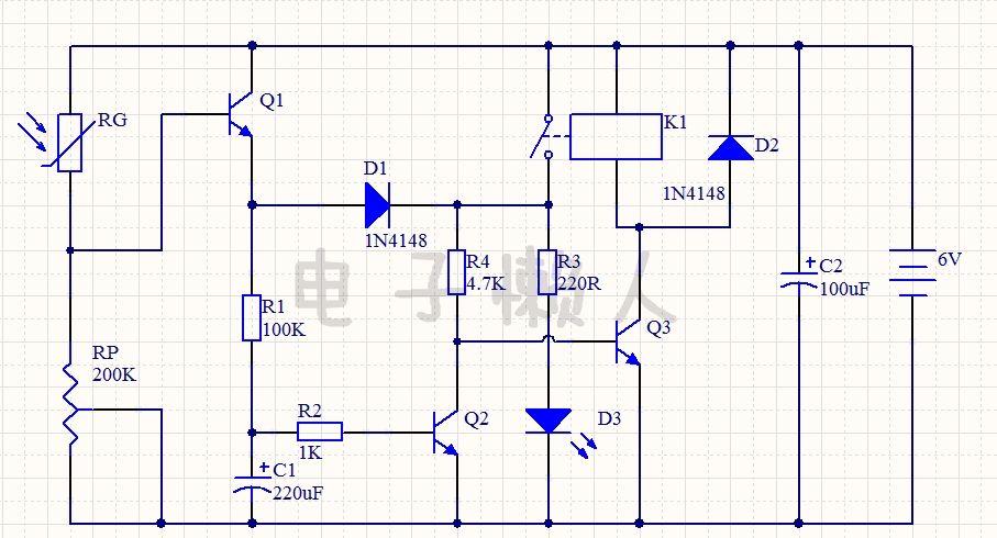 光控控制开关LED详解