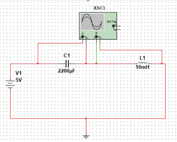 电容与电感串联直流电路系统分析