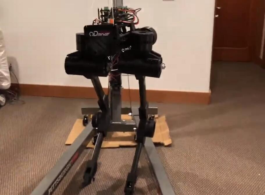 2019 Hackaday Prize參賽作品-黑鳥雙足機器人