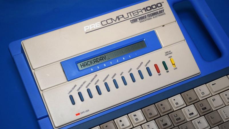 拆解PreComputer 1000计算机:基于可靠的Zilog Z80处理器电路设计方案