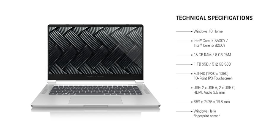 保时捷设计笔记本Ultra One,价格华而不实