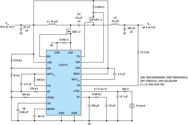 双端口、双极性电源方案电路设计