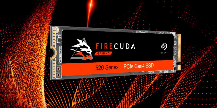 群联E16主控加持,希捷发布酷玩520 PCI-E 4.0 SSD 96层TLC