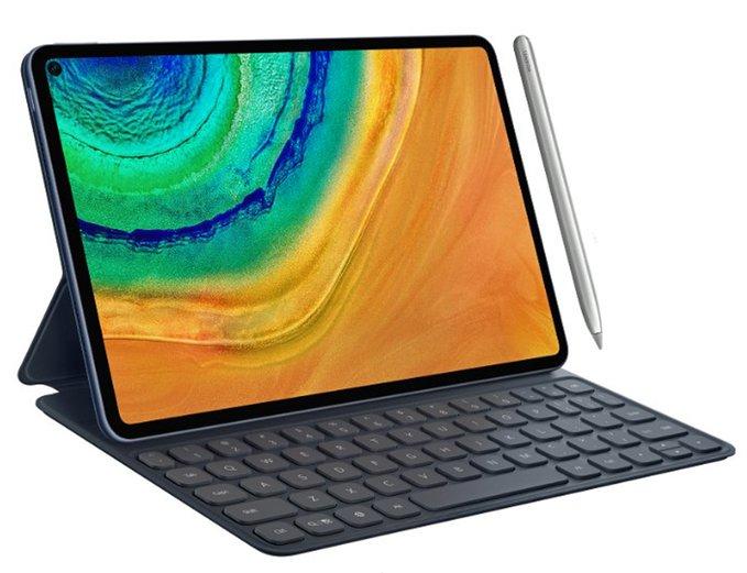 向iPad Pro致敬?華為推出全面屏MatePad Pro平板