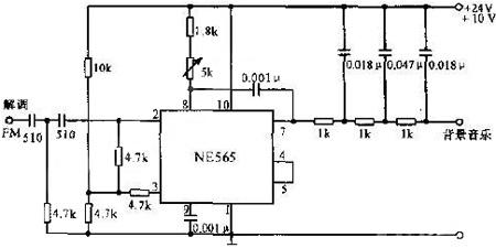 SCA解调器电路图