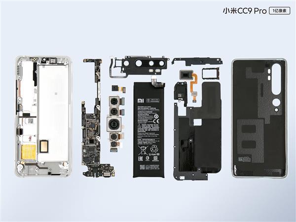 小米CC9 Pro拆解:1亿像素的相机模组电路设计竟这么复杂