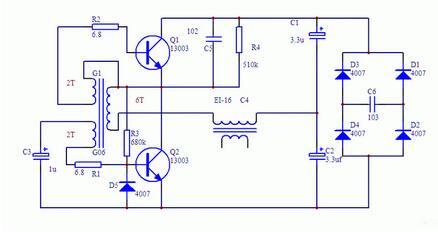 实用节能家用小型霓虹灯电路设计