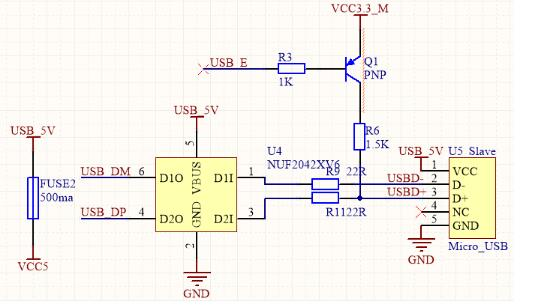 常見STM32 USB設備電路設計