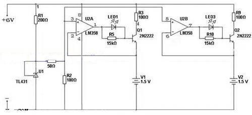 基于lm358的碱性电池充电电路设计