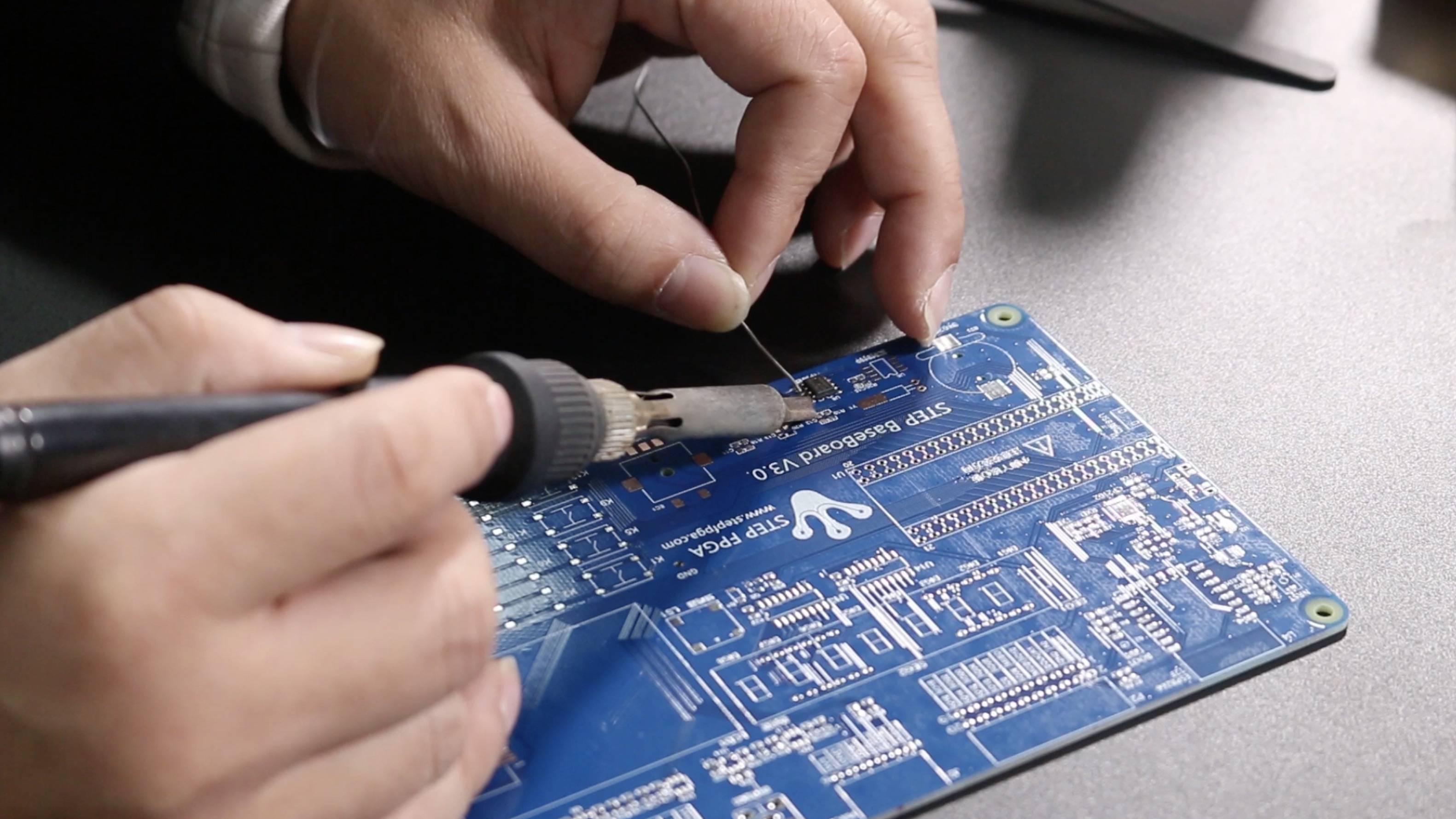 電路板手工焊接技巧