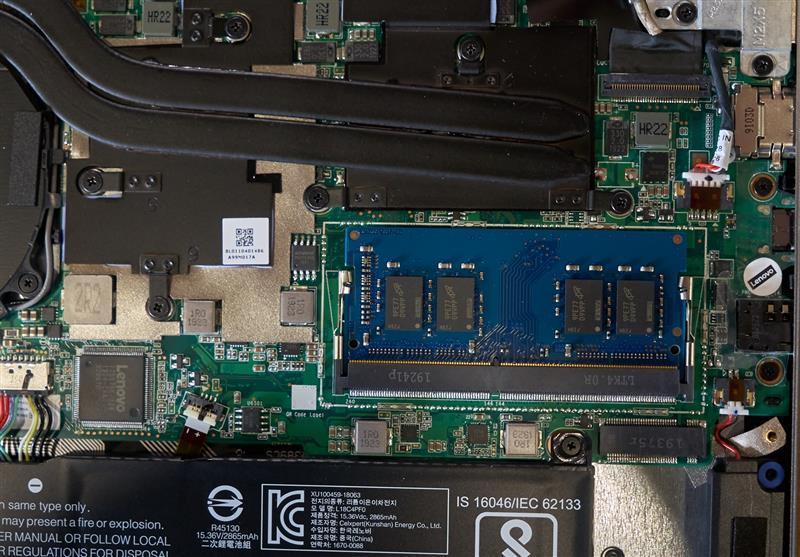 聯想ThinkBook 13s拆解:英特爾傲騰可媲美DRAM?